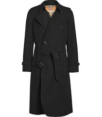 burberry the long chelsea heritage trench coat - black