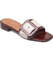 sandals 2922 shoes summer shoes flat sandals creme billi bi