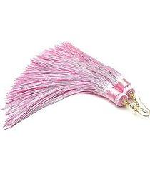 maxi boho /pink/ - kolczyki