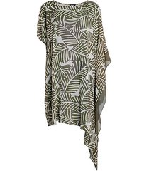 asymmetrical kaftan coverup