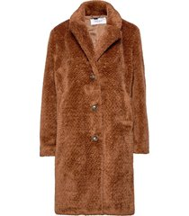 coat not wool outerwear faux fur bruin gerry weber edition