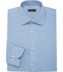 modern micro-diamond travel cotton dress shirt