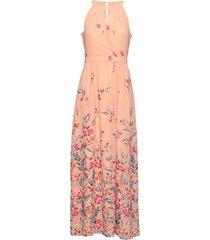 dresses light woven maxiklänning festklänning rosa esprit collection