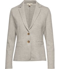 jackets indoor knitted blazer kavaj grå esprit casual