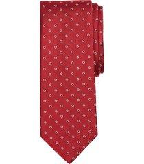 corbata hombre herringbone flower rojo brooks brothers