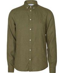les deux christoph linen shirt l.green