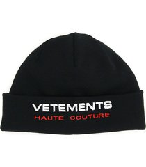 vetements haute couture beanie