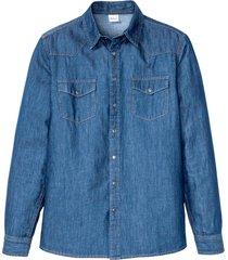 camicia in jeans (blu) - john baner jeanswear