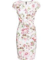 abito jacquard a fiori (bianco) - bodyflirt boutique