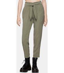 bcbgeneration tie-waist pants