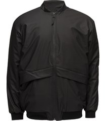 b15 jacket outerwear rainwear rain coats svart rains
