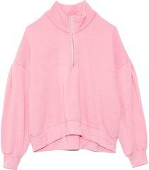 duke sweatshirt in pink glo