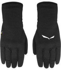 guantes  ortles pl gloves negro salewa