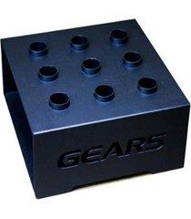 suporte para 9 barras olímpicas vertical móvel gears