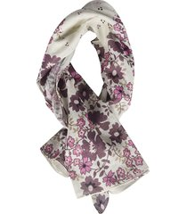 dsquared2 floral scarf