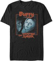 men's buffy the vampire slayer slayer buffy short sleeve t-shirt