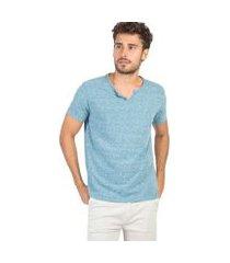 camiseta gola portuguesa taco masculina