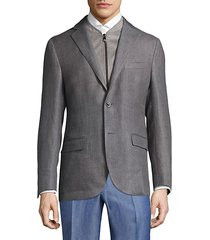 slim wool jacket