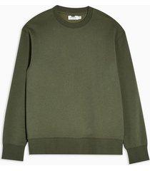 mens khaki classic sweatshirt