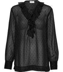 day liza blouse lange mouwen zwart day birger et mikkelsen