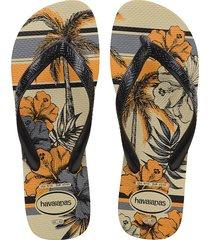 sandalias chanclas havaianas para hombre multicolor aloha
