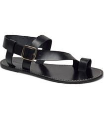 athens shoes summer shoes flat sandals svart by malene birger