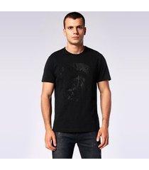 camiseta diesel t-joe-sq   masculino branco