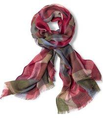 homecoming plaid scarf