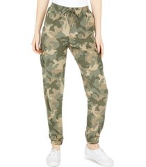 hippie rose juniors' pull-on cargo pants