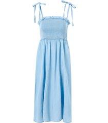 klänning viathena bista strap midi dress