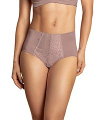 panty panty control suave rosa lumar by leonisa 72221