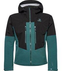 pallas warm hybrid m jacket outerwear sport jackets grön halti