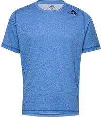 fl trg tee t-shirts short-sleeved blå adidas performance