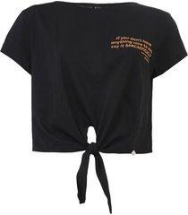 camiseta dimy amarração preta - kanui
