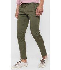 pantalón verde mancini cierres