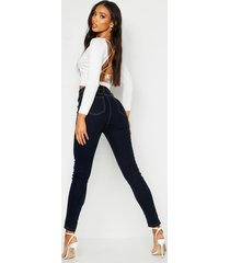 all sizes collection high waist jegging, dark blue