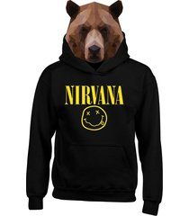 buzo chaqueta hoodies nirvana
