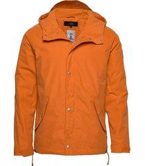 lined raglan jacket fodrad jacka orange makia