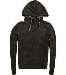no excess camouflage sweater hoodie
