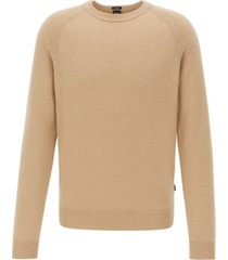 boss men's benilo regular-fit cashmere sweater