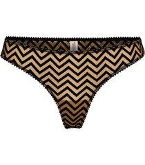 dina string stringtrosa underkläder brun underprotection