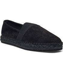 lular espadrille sandaletter expadrilles låga svart gant
