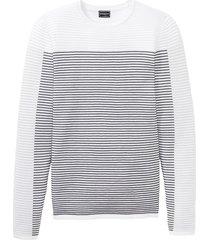 maglione a costine (bianco) - rainbow