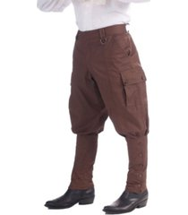 buyseasons men's brown steampunk pants