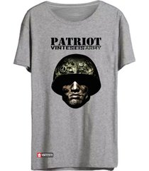 camiseta vinteseis patriot cinza