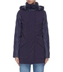 'berkley' puffed zip down coat
