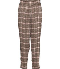 clan mw trousers pantalon met rechte pijpen multi/patroon second female