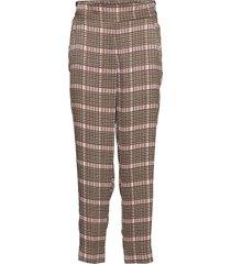 clan mw trousers pantalon met rechte pijpen multi/patroon second female