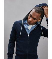 tommy hilfiger men's icon organic cotton hoodie desert sky - xxl