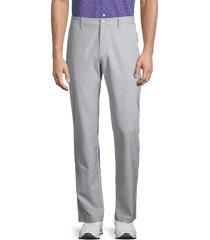 bonobos golf men's highland slim-fit pants - heather grey - size 35 34